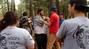 wilderness first aid; upper extremity splint