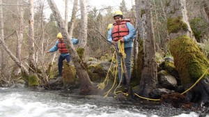 Entrapments, swiftwater rescue