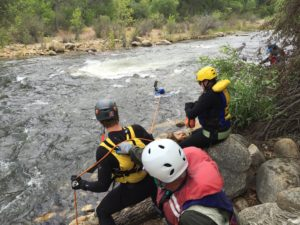 souther sierras swiftwater rescue- Kern River