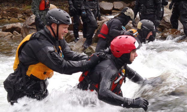 Swiftwater Rescue Technician Operations Level